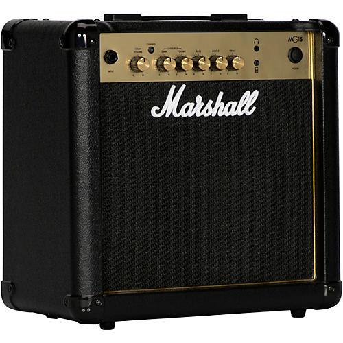 marshall mg15gfx 15w 1x8 guitar combo amp guitar center. Black Bedroom Furniture Sets. Home Design Ideas