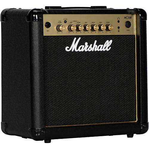 marshall mg15gr 15w 1x8 guitar combo amp guitar center. Black Bedroom Furniture Sets. Home Design Ideas