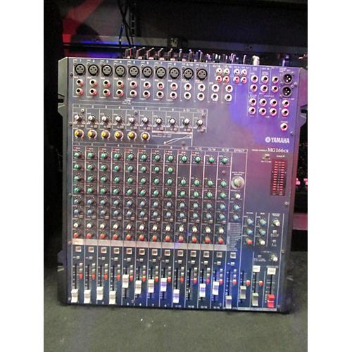 Yamaha MG166CX Unpowered Mixer-thumbnail