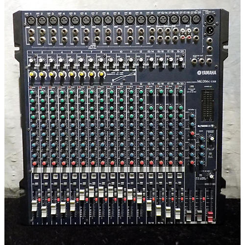 Yamaha MG206C-USB Unpowered Mixer