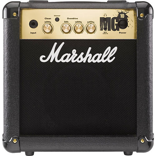 Marshall MG4 Series MG10 10W 1x6.5 Guitar Combo Amp (Black) Black