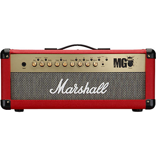 Marshall MG4 Series MG100HFX 100W Guitar Amp Head Red