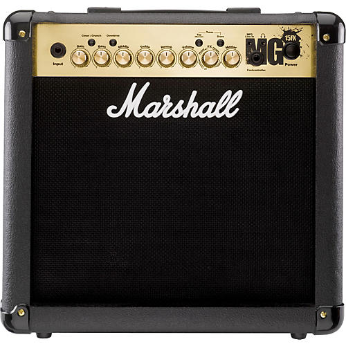 Marshall MG4 Series MG15FX 15W 1x8 Guitar Combo Amp (Black)
