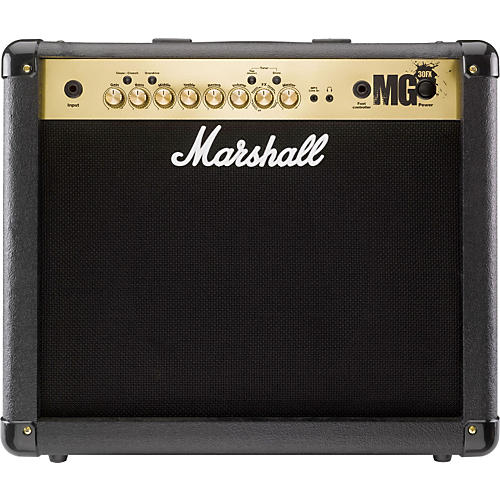Marshall MG4 Series MG30FX 30W 1x10 Guitar Combo Amp Restock Black