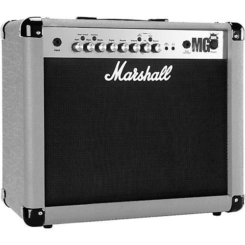Marshall MG4 Series MG30FX 30W 1x10 Guitar Combo Amp Restock Silver
