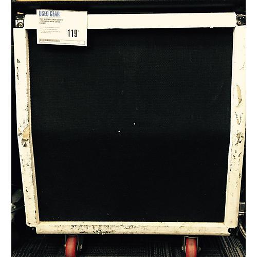 Marshall MG412A 4X12 120W Angle White Guitar Cabinet-thumbnail