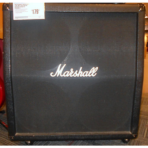 Marshall MG412A 4X12 120W Angle With British Invasion Veteran 30 Speakers Guitar Cabinet