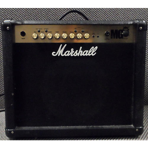 used marshall mg50cfx 1x12 50w guitar combo amp guitar center