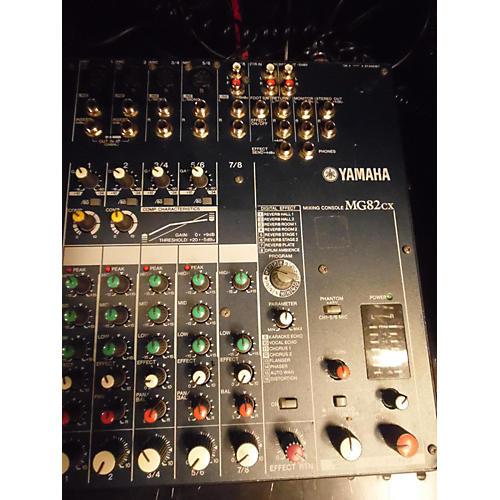 Yamaha MG82CX Unpowered Mixer-thumbnail