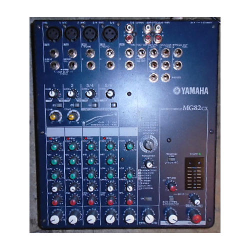 Yamaha MG82CX Unpowered Mixer