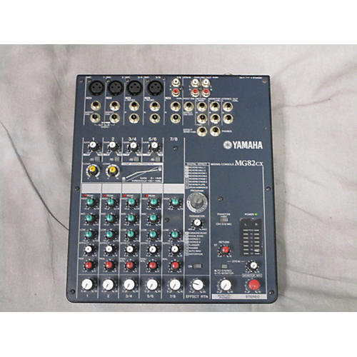 Yamaha MG82CX Unpowered Mixer