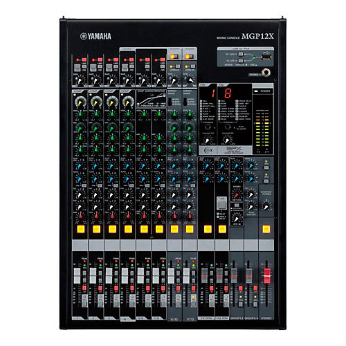 Yamaha MGP Series MGP12X 12-Channel/4-Bus Mixer