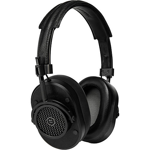 Master & Dynamic MH40 Over Ear Headphone, Brown/Silver Black/Black