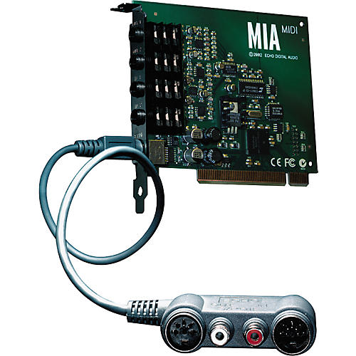 Echo MIA MIDI Digital Audio and MIDI Card