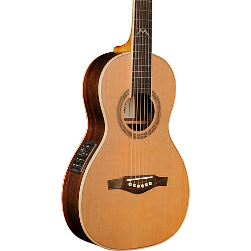 EKO MIA Series Parlor Acoustic-Electric Guitar Natural