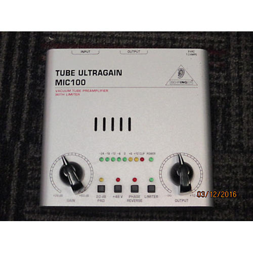 Behringer MIC100 Microphone Preamp-thumbnail