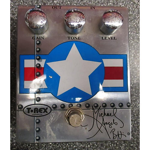 T-Rex Engineering MICHAEL ANGELO BATIO DISTORTION Effect Pedal-thumbnail