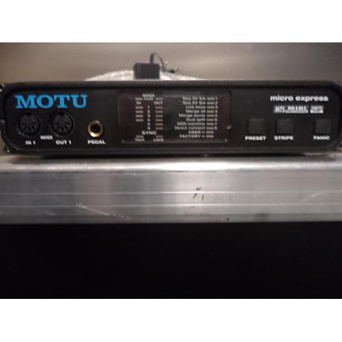 MOTU MICRO EXPRESS Multi Effects Processor