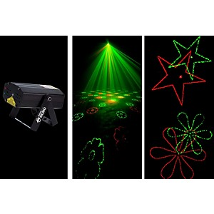 American DJ MICRO GOBO Laser with Red and Green Gobo by American DJ