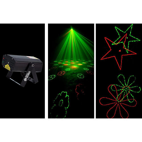 American DJ MICRO GOBO Laser with Red & Green Gobo-thumbnail