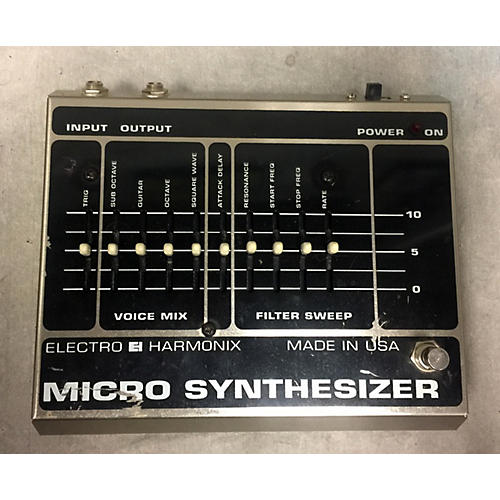 used electro harmonix micro synthesizer effect pedal guitar center. Black Bedroom Furniture Sets. Home Design Ideas