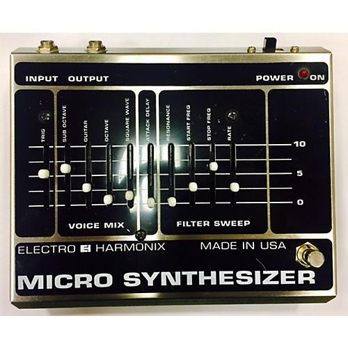 Electro-Harmonix MICRO SYNTHESIZER Effect Pedal-thumbnail