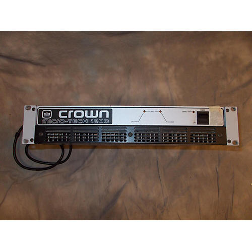 Crown MICRO TECH 1200 Power Amp-thumbnail