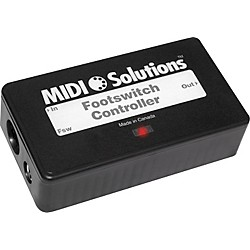 MIDI Solutions Footswitch Controller (20-1104)