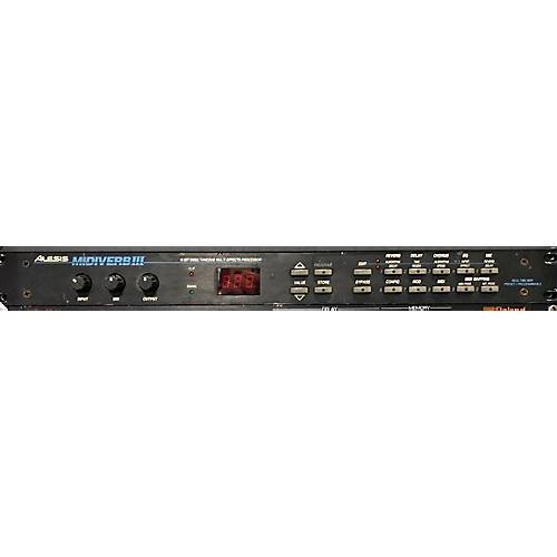 Alesis MIDIVerb III Multi Effects Processor-thumbnail