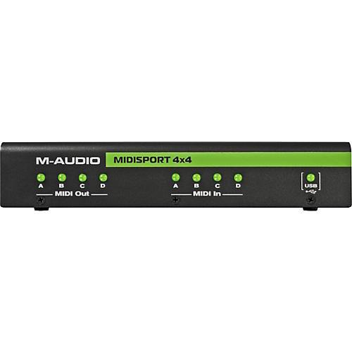M-Audio MIDIsport 4x4 Anniversary Edition USB MIDI Interface-thumbnail