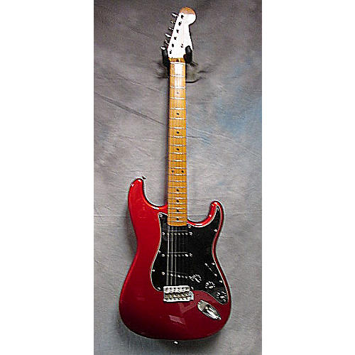 Fender MIJ Stratocaster (Guard) Candy Apple Red Solid Body Electric Guitar