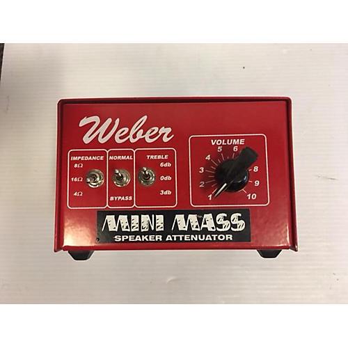 Weber MINI MASS Power Attenuator