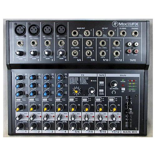 Mackie MIX12FX Unpowered Mixer