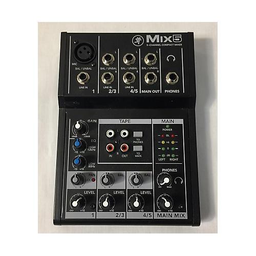 Mackie MIX5 Unpowered Mixer-thumbnail