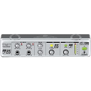 Behringer MIX800 MiniMIX Karaoke Machine with Voice Canceller and FX by Behringer