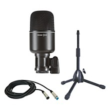 Gear One MK1000 Kick Drum Mic Package with Stand and Cable