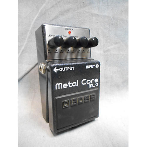 Boss ML2 Metal Core Distortion Effect Pedal-thumbnail