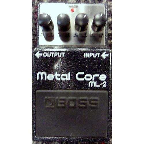 Boss ML2 Metal Core Distortion Effect Pedal-thumbnail