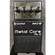 Boss ML2 Metal Core Distortion Effect Pedal
