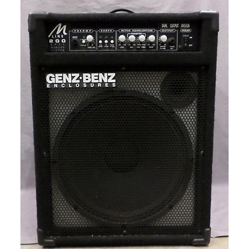 used genz benz ml200 1x15 bass combo amp guitar center. Black Bedroom Furniture Sets. Home Design Ideas