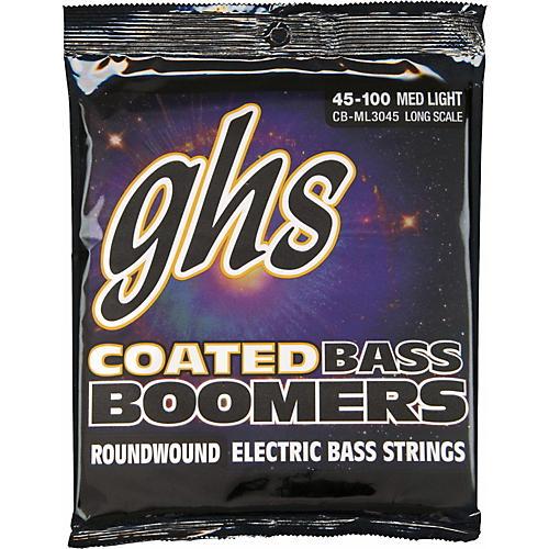 GHS ML3045 Coated Boomers Medium Light Bass Strings
