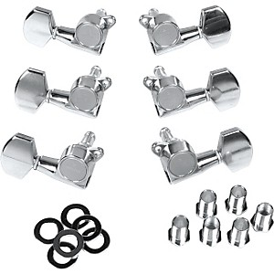 Gotoh MLB3-G 3-On-A-Side Locking Tuners 6 Pack