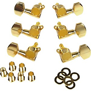 Gotoh MLB3-G 3-On-A-Side Locking Tuners 6 Pack by Gotoh