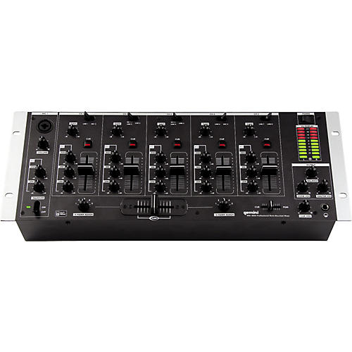 Gemini MM-3000 5-Channel DJ Mixer