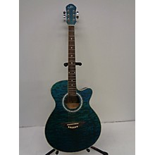 Morgan Monroe MM-QABL Acoustic Electric Guitar