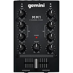 Gemini MM1 2 Channel Audio Mixer by Gemini