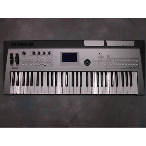 Yamaha MM6 Mini MO 61 Key Keyboard Workstation-thumbnail