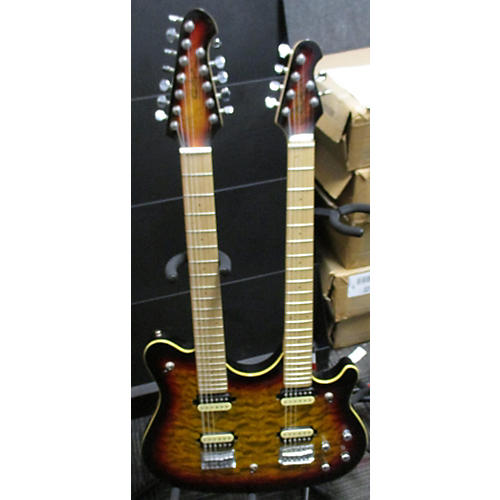 OLP MM612 Solid Body Electric Guitar-thumbnail