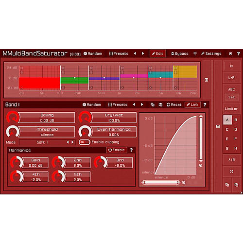 MeldaProduction MMultiBandSaturator Software Download