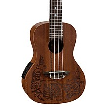 Luna Guitars MO EL Concert Acoustic-Electric Ukulele
